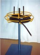 Dérouleur horizontal sur pied - Dimensions standards