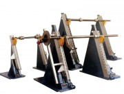 Dérouleur industriel par axe - Charge maximum : 2.5 Tonnes