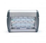 Désinsectiseur inox 16W  - Puissance : 16 W - Couverture (m²) : 50 - à grille électrique