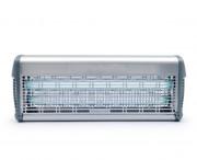 Désinsectiseur inox 40 W  - Puissance : 40 W - Couverture : 140 m² - À grille électrique