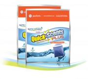 Désodorisant en poudre pour toilettes - Pour toilettes autonomes - Volumes disponibles : 250 par caisse (5 sacs de 50)