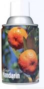 Désodorisant professionnel mandarine 270 ml - Capacité : 270 ml / 3300 + pulvérisations - Diamètre : 65 mm