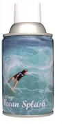 Désodorisant professionnel océan 270 ml - Capacité : 270 ml / 3300 + pulvérisations - Diamètre : 65 mm