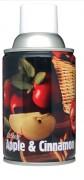 Désodorisant professionnel pomme et cannelle 270 ml - Capacité : 270 ml / 3300 + pulvérisations - Diamètre : 65 mm