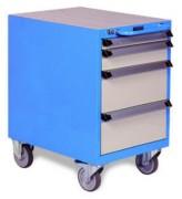 Desserte d'atelier tiroirs montés - Dimensions (L x P x H) mm : 500 x 650 x 797