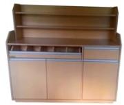 Desserte haute et vaisseliers  - Dimensions (L x P x H) 1500 x 525 x 1400 mm