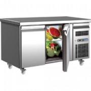 Desserte réfrigérée professionnelle - Capacité de stockage 282L - 2 portes