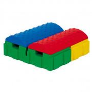 Dessus de brique multi jeux - Dimensions : long. 24 x larg. 6 x haut. 3cm