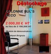 Déstockage colonne bul's déco - Dimensions (H x Ø) : 2300 x 200