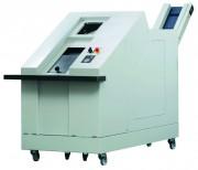 Destructeur de disques durs et supports magnétiques - Profondeur : 3298 mm, Largeur : 1040 mm, Hauteur : 1696 mm