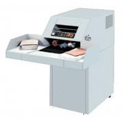 Destructeur de documents coupe croisée - Capacité du réceptacle : 300 litres