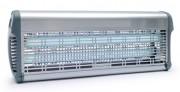 Destructeurs d'insectes 80 Watt, Inox - Puissance : 80 Watts - Couverture : 280 m² -  À grille électrique