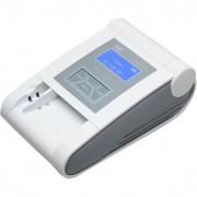 Détecteur de billets pour 8 devises - Ecran LCD 60 x 27 mm - Puissance : 10 W - Dimensions : 140 x 220 mm