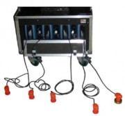 Détecteur présence dans les véhicules MDS mobile - 4 capteurs magnétiques