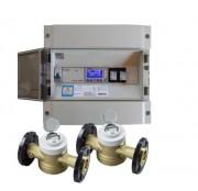 Détecteurs de fuite d'eau 2 entrées - Surveillance de 2 réseaux d'eau différents
