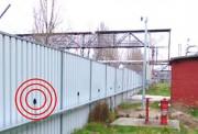 Détection périmétrique sur mur - Fractionnables en 8 zones de 35 m