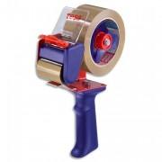 Dévidoir avec frein pour rouleaux adhésifs 100m ou 66m - sans marque