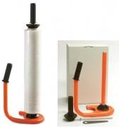 Dévidoir film étirable manuel - Dérouleur de bobine de film étirable manuel en 450 et/ou 500 mm