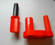 Dévidoir plastique film étirable - Diamètre (Ø) Mandrin : 2 pouces