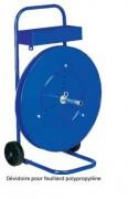 Dévidoir pour feuillard polypropylène - Dévidoir multi-diamètre / 200-280 & 406mm