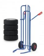 Diable à pneus 200kg - Fourches articulées