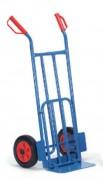 Diable acier à bavette rabattable 250 kg - Charge max. : 250 kg