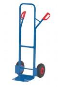 Diable acier à dossier haut 300 Kg - Charge utile (kg) : 300