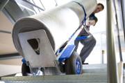 Diable aluminium pour escaliers - Capacité de charge : jusqu'a 300 kg