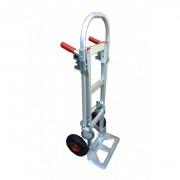 Diable chariot aluminium - 2 en 1 : diable / chariot