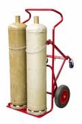 Diable chariot porte-bouteilles - Charge utile (Kg) : 250