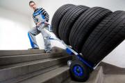 Diable électrique escalier - Capacité de charge jusqu'à 170 kg