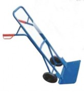 Diable élévateur à treuil manuel - Capacité de charge : 150 kg
