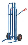 Diable pneumatique 200 kg - Capacité de charge : 200 kg
