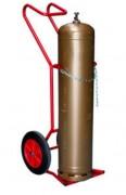 Diable porte bouteilles en acier - Capacité de charge : 250 kg