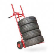 Diable porte pneus capacité de charge 300 kg - Poids net : 18 kg