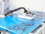 Dispositif nettoyage pour convoyeur agroalimentaire - Bandes transporteuses à partir de 350 mm de large