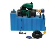 Dispositifs de gestion de l'eau de pluie - Débit (m3/h) : de 0 à 3.6