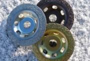 Disque abrasif au carbure de tungstène - Épaisseur disque : 2.5 mm