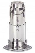 Distributeur à lait froid inox 18/10 - Dimensions (Longueur x Largeur x Hauteur): 29x31x47 cm - Contenance: 5 Litres