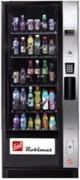 Distributeur automatique de boissons avec vitrine - Système à deux portes pour une séparation de l'espace réfrigéré