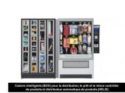 Distributeur automatique de masques et gels hydroalcooliques - Distributeurs automatique modulable de produits sanitaires