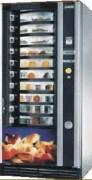 Distributeur automatique de repas chaud - DimensionsHxLxP (mm) : 1830 x 900x 770
