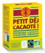 Distributeur cacao instantané équitable - Cacao instantané en poudre 375g