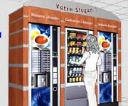 Distributeur de boissons first casquette arrondie - Casquette arrondie