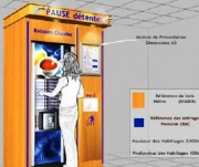 Distributeur de boissons first custom - Presentation A3