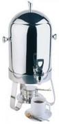 Distributeur de café inox - Diùmensions: 31x33x54.5 cm - poids : 5.59 kg -  Contenance : 10.5 litres