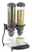 Distributeur de céréale en métal - Avec tube