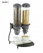 Distributeur de céréales métallique - Poids (kg) : De 5 à 7