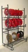 Distributeur de couronnes et bobines - Pour les bobines jusqu'à 600 mm de diamètre et jusqu'à 30 kg