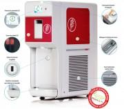 Distributeur de glace et softs - Fabrication européenne  - Carrosserie en tôle - Production : 14 kg/h